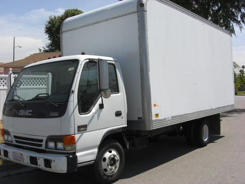 2000 GMC W3500 - Diesel Box Truck